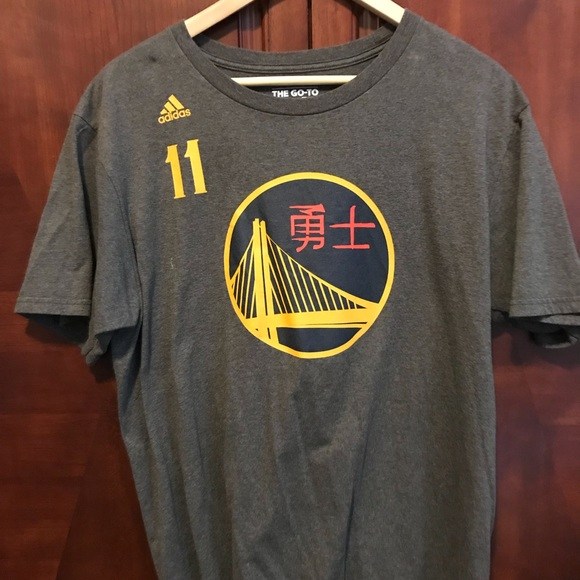 best sneakers 45cb5 cb819 Klay Thompson Chinese New Year Shirt
